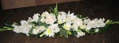 long and low flower arrangements - Google Search