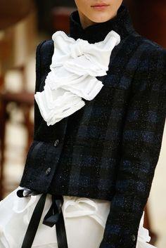 Chanel Fall/Winter 2015.  Paris Fashion Week.