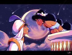 Prince Ali Ababwa and Jasmine