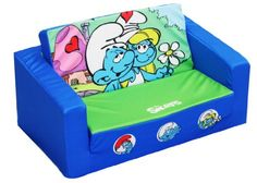 Sony Smurfs Kids Flip open Sofa, Smurfy fun for little ones Kids Sofa, Take A Nap, Kids Furniture, Little Ones, Toy Chest, Storage Chest, Sony, Cool Things To Buy, Cool Stuff