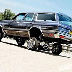 Lowrider photo shoot. 1982 Chevy Malibu wagon