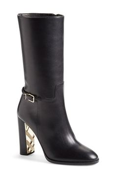 These fucking Burberry boots though... Burberry 'Marling' Equestrian Boot (Women) available at #Nordstrom
