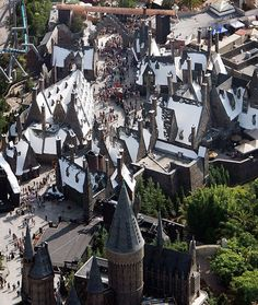 Harry Potter Theme Park in Universal Studios in Orlando, FL. I HAVE TO GO THERE!