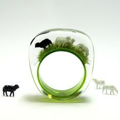 Black Sheep Acrylic Ring