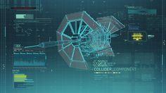 Scarab Digital's S.T.A.R LABS Cortex Collider #TheFlash #CWTheFlash #UI