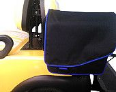 Golf Cart saddle bags, storage solution. etsy.com/shop/albabound