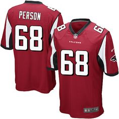 2e767b4ef06 Cheap Nike Game Men's Mike Person Red Home Jersey: NFL #68 Atlanta Falcons