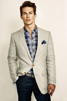 Awesome Blazer. But the combination of that shirt and jeans make ...