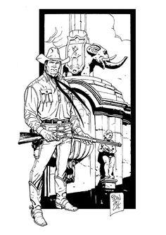 Tex Willer a Etna Comics 2014 - Sergio Bonelli