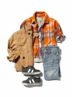 #bigbabybasketsweeps Baby Clothing: Toddler Boy Clothing: Outfits We ♥ | Gap