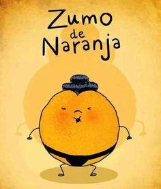 Buenos días Tenedores! Qué mejor que un buen zumo de #naranja por las mañanas para empezar con fuerza el último día de la semana!! Esta, tiene pinta de tener mucho jugo jejeje!! Feliz viernes!!  ;)