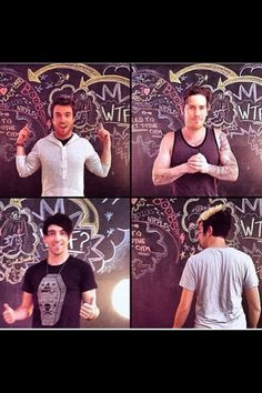 """I love how there's Rian and Alex what are just like """"I'm freaking awesome bruh"""" and then there's Zack who looks like he's about to beat the shit out of someone in the best way possible and Jack's just like """"what is happening"""""""