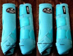 Professional Choice Elite Boots in Turquoise~ This would be nice for my horse because she's older and it would provide extra support to her ankles area. Horse Boots, Horse Gear, Equestrian Boots, Equestrian Outfits, My Horse, Equestrian Style, Horse Tack, Equestrian Fashion, Horse Saddles
