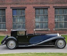Fancy - 1931 Bugatti Type 41 Royale  #manmadebeauty