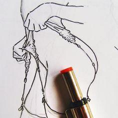 Nacho Casanova #erotic #eroticart #erotique #eroticdrawing #line #ink #ilustracionerotica #minimal #fetish #liguero #hosiery #nachocasanova #illustration #eroticillustration #picame #nakidmag #sketch #sketchbook #notebook #aotearotica