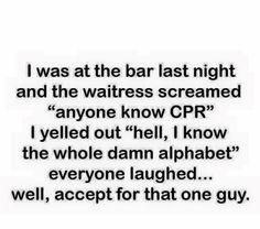 Haha poor guy!