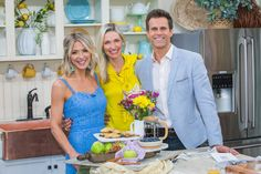 Catherine McCord is making a delicious treat with seasonal fruit. Home And Family Hallmark, Hallmark Homes, Family Recipes, Family Meals, Family Video, Fruit Ideas, Fruit Pie, Fruit In Season, Hallmark Channel
