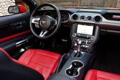 Ford Mustang Interior, Ford Mustang 1969, Red Mustang, Ford Mustang Convertible, Mustang Fastback, Mustang Cars, Car Ford, Ford Gt, Ford Chevrolet