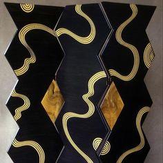 Grant Noren Kyoto Folding Room Divider-Screen, Artistic Artisan Designer Folding Screens