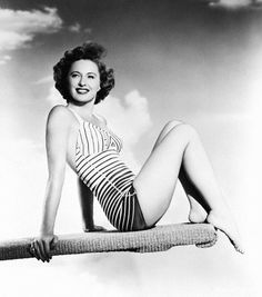 Barbara Stanwyck In Bathing Suit 1953