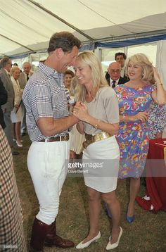 Prince Charles at a polo match in Windsor with actress Susan George and Lady 'Kanga' Tryon (right), July Charles And Diana, Prince Charles, Susan George Actress, Polo Match, Child Actresses, She Movie, Film Music Books, Royal Fashion, Her Style