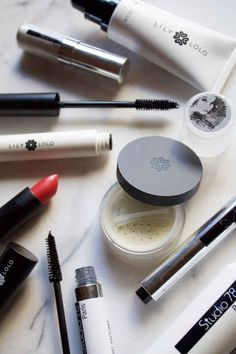 All-natural makeup from Lily Lolo and Studio 78 Paris.