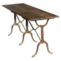 Late 19th Century French Country Baker's Table - $2,800 Est. Retail - $2,175 on Chairish.com