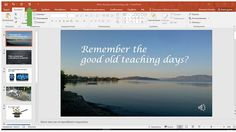 A different side of EFL: How to turn your powerpoint presentation into a vi...