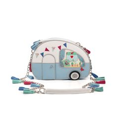 Vendula Vintage Caravan Box Bag - so flippin' cute.