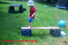obstacle course idea