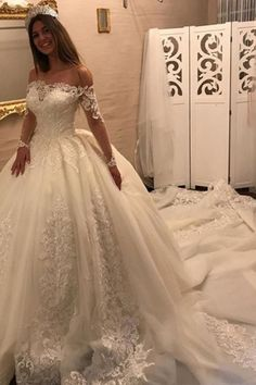 Wedding Dresses Ball Gown #WeddingDressesBallGown, Wedding Dresses 2018 #WeddingDresses2018