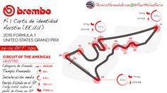 [Infografía] Puntos de frenada, energía y deceleración de Austin F1 2015  #F1 #Formula1 #USGP