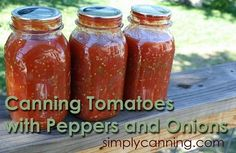 Canning stewed tomatoes.  When home canning this a pressure canner is required! www.simplycanning.com/stewed-tomatoes.html