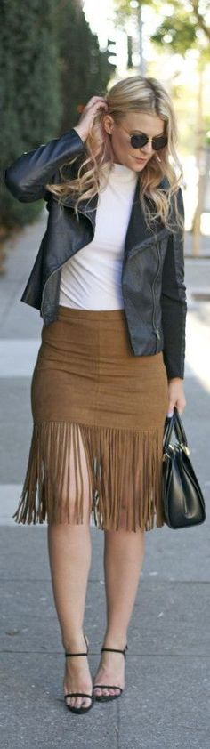 Fall Fringe / Fashion By Brit And Whit