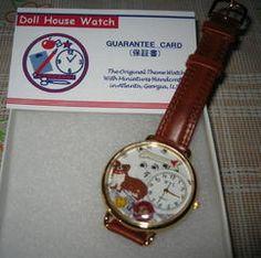 2007年1月コーギーちゃんの時計