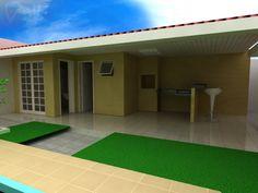 area de serviço com quarto e banheiro - Pesquisa Google