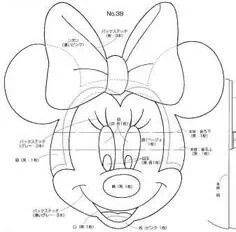 Minnie Mouse Head for Mickey Mouse Puppet Template Minnie Mouse Template, Bolo Da Minnie Mouse, Minnie Mouse Party, Mickey Minnie Mouse, Baby Mickey Mouse, Cake Templates, Applique Templates, Applique Patterns, Quilt Patterns