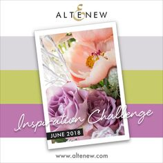 Hello everyone! Sveta here today to launch this month's Inspiration Challenge. I really love choosing inspiration for you so thanks for taking part in our challenges. Monthly Challenge, Altenew, Hello Everyone, Color Combos, Card Making, June, Product Launch, Challenges, Elegant Designs