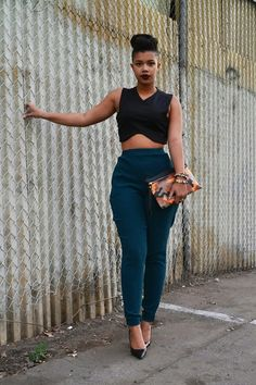 "carmenalexandra: "" Carmen Alexandra, Fashion Blogger @carmenalexandraaaa Clutch: www.SheTheCollection.com """