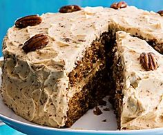 Try our coffee cake recipe with pecan brittle. This simple coffee cake recipe is a moist coffee cake recipe. Make this quick and easy coffee cake recipe Chocolate Fudge Cake, Salted Caramel Chocolate, Layer Cake Recipes, Easy Cake Recipes, Baking Recipes, Pecan Recipes, Coffee Recipes, British Cake, Afternoon Tea Recipes