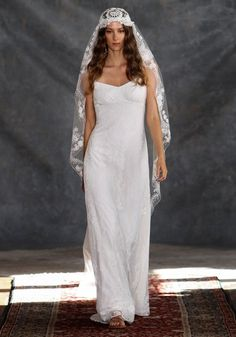 Adelaide Lace Bridal Gown Romantique Claire Pettibone