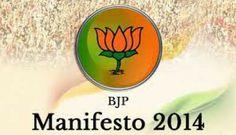 BJP manifesto 2014 - Highlights  http://www.shaupdates.com/2014/highlights-of-bhartiya-janta-party-manifesto-2014/