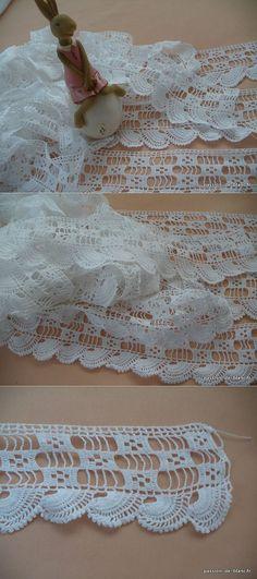 Monograms, lace...♥ Deniz ♥