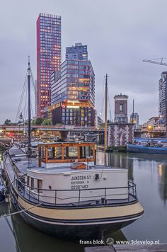 Rotterdam, Lonely Planet, Netherlands, Boats, New York Skyline, My Photos, Paradise, Pictures, Travel