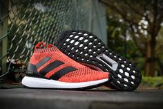 adidas Ace 16+ PureControl Ultra Boost Laser Orange Black Beckham UK Trainers 2017/Running Shoes 2017