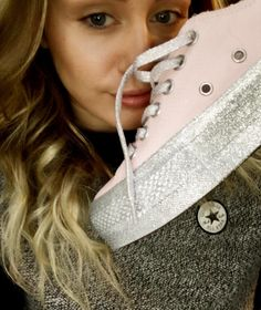 When Does Miley Cyrus X Converse Drop? The Flatform Glitter Design Is So Major