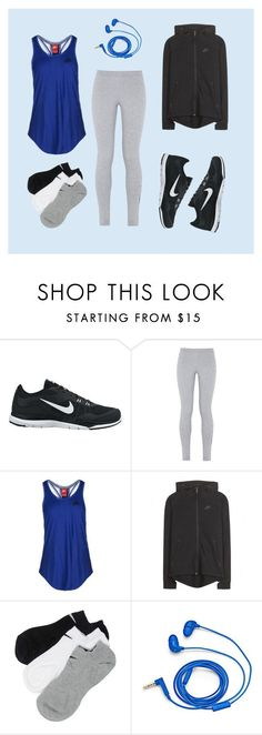 """Morning jog"" by arugalagirl13 ❤ liked on Polyvore featuring moda, NIKE y FOSSIL"