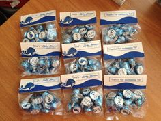 i {spy} CSS set: Seaside Sentiments 1 used to create adorable baby shower whale favors by Melissa Bjorkman