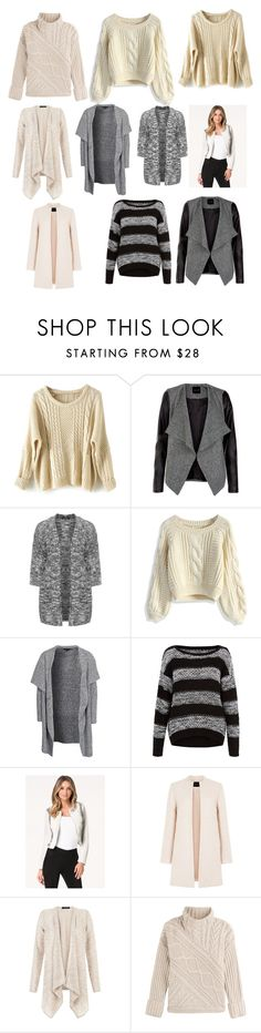 """Top 10 Jumpers, Cardigans and Jackets- April"" by queen-mahimaa ❤ liked on Polyvore featuring Eloquii, Chicwish, New Look, Bebe and Polo Ralph Lauren"