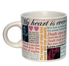 Shakespeare Love Mug